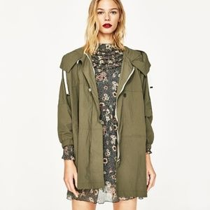 Jackets & Blazers - Zara oversized wind jacket